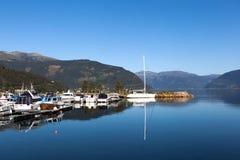 Kinsarvik. Norway. Royalty Free Stock Images