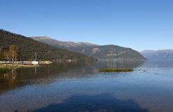 Kinsarvik. Norway. Royalty Free Stock Photo