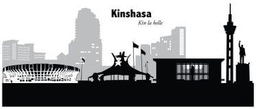 Kinshasa, Congo Imagen de archivo libre de regalías