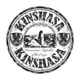 Kinshasa grunge rubber stamp Stock Image