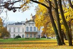 KINSKY pałac Musaion, Praga, czech Praga, LISTOPAD - 8, 2014 - Zdjęcia Stock
