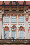 Kinsky Palace Royalty Free Stock Photos