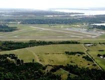 Kinston Ontario, aérien Image libre de droits