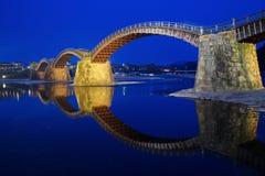 Kintai桥梁 库存图片
