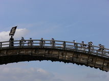 Kintai-Brücke Lizenzfreies Stockfoto