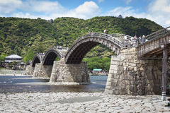 Kintai Bridge, Iwakuni, Japan Royalty Free Stock Photo
