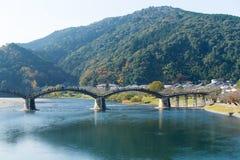 Kintai Bridge in japan Stock Image