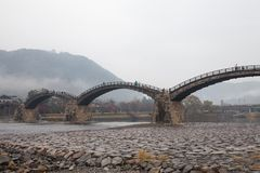 Kintai Bridge Kintai-kyo, the most distinguished landmark of I Stock Images