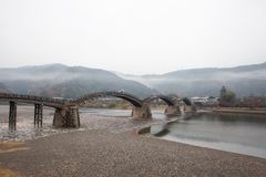 Kintai Bridge Kintai-kyo, the most distinguished landmark of I Royalty Free Stock Images