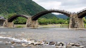 Kintai bro i Iwakuni Royaltyfri Foto