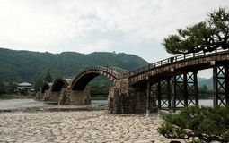 Kintai-Kyo :岩国市,日本 库存图片
