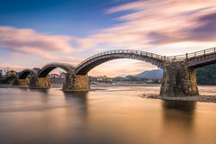 Kintaikyo Bridge in Japan Royalty Free Stock Images