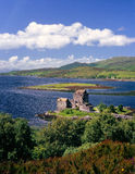 kintail Шотландия замока donan eilean Стоковые Фото