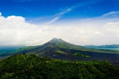 Kintamani火山巴厘岛 库存照片
