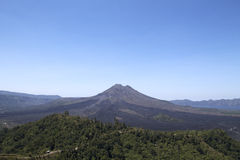 Kintamani Batur See und Vulkan Lizenzfreies Stockbild