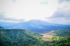 Kintamani Batur wulkanu widok miejsce interes w Bali Fotografia Stock