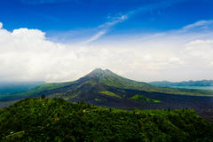 Kintamani Volcano Bali. Asian, bali, indonesia, kintamani, landscape, mountain, nature, sky, travel, volcano Stock Photos