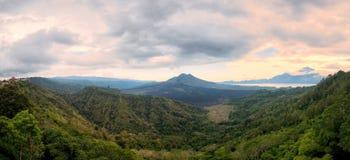 Kintamani Volcano in Bali Indonesia Stock Image