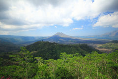 Kintamani volcano Bali Island  Indonesia Royalty Free Stock Images