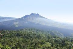 Kintamani volcano and lake batur bali Stock Photo