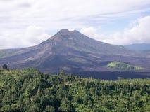 Kintamani Volcano and Mount Batur in Bali, Indonesia. Stock Photos