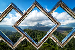 Kintamani-Vulkan und See Batur Ätna lizenzfreie stockfotografie