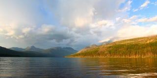 Kintla湖冰川国家公园 免版税图库摄影