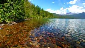 Kintla湖冰川国家公园 股票录像