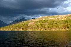 Kintla Lake - Glacier National Park Royalty Free Stock Photos