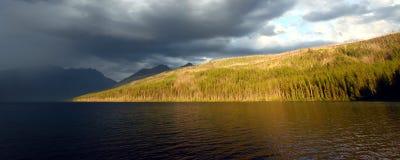 Kintla Lake - Glacier National Park Royalty Free Stock Photography