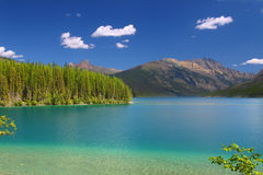 Kintla Lake - Glacier Park Royalty Free Stock Photos