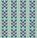 Kintting pattern Royalty Free Stock Photo