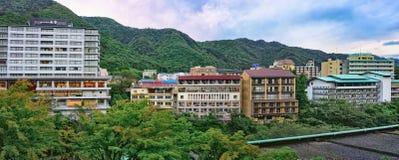 Kinugawa Onsen旅馆,日光,日本 库存图片