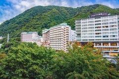 Kinugawa Onsen hotel, Nikko, Japonia Zdjęcie Stock