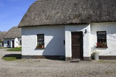 Traditional Old Irish Cottage Stock Images