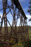 Kinzau Bridge Skywalk and State Park Royalty Free Stock Photos