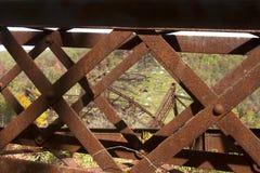 Kinzau bro Skywalk och delstatspark arkivfoto