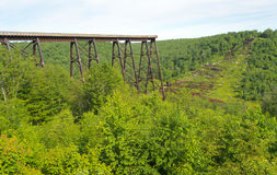 Kinzua Bridge Royalty Free Stock Photos
