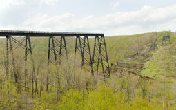 Kinzua Bridge Stock Images