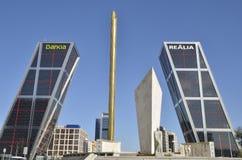KIO Towers Stock Images