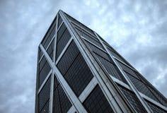 Kio-Turm in Madrid, von unterhalb gesehen Lizenzfreie Stockbilder