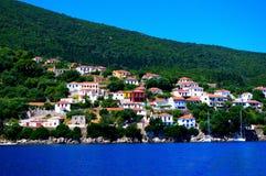 Kioni, Grecia Immagine Stock