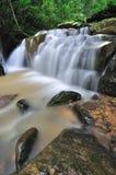 Kionsom waterfall Kota Kinabalu Sabah Royalty Free Stock Image