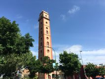 Kiosco Torre de los Perdigones Royaltyfria Bilder