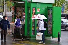 kiosk fotografie stock