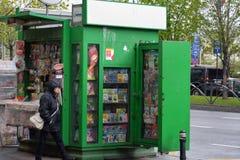 kiosk immagini stock