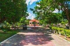 Kiosk in bacalar park Stock Photo