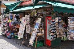 Kiosk buiten royalty-vrije stock foto's