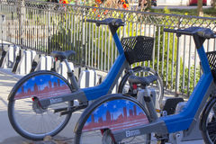 Kiosk för Baltimore cykelaktie Royaltyfria Bilder