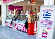 Kiosk with ice cream in Protaras Stock Photos